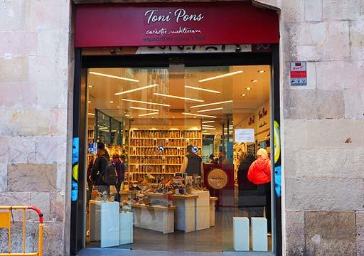 バルセロナ観光 おすすめのお土産 エスパドリーユ トニー ポンズ(Toni Pons)