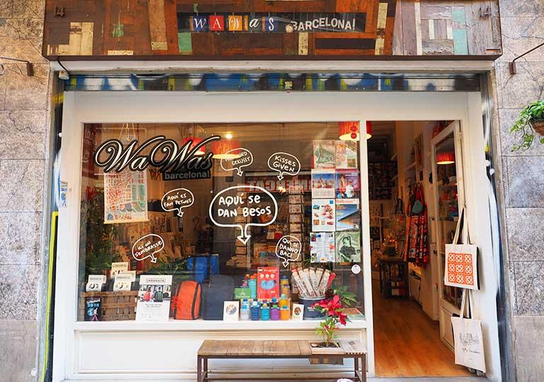 バルセロナ観光 お土産が買えるオススメの場所 ワワス バルセロナ(Wawas Barcelona)
