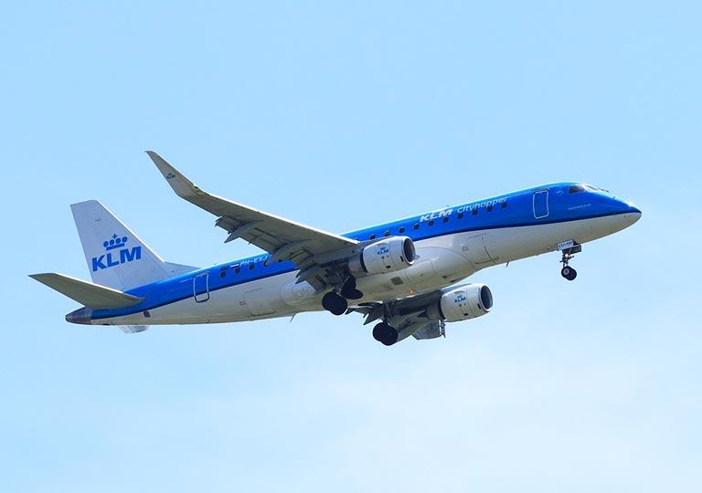 KLM航空の飛行機