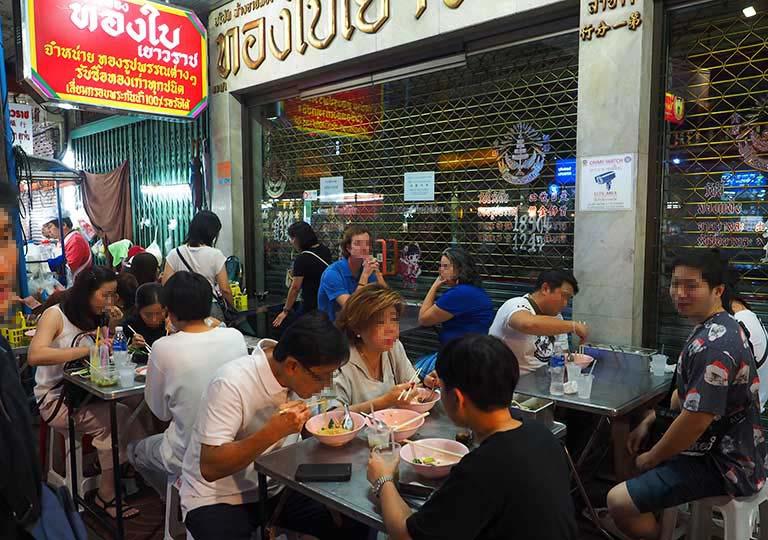 バンコク観光 チャイナタウンのローストダック Liw Roasted Duck