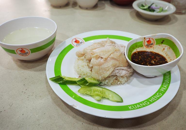 バンコクグルメ カオマンガイ