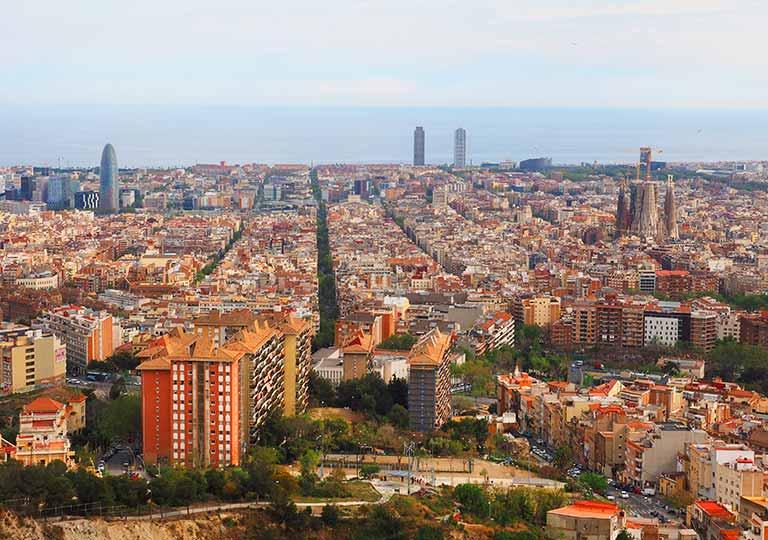 バルセロナ観光 おすすめ観光地・モデルコース カルメル要塞(Bunkers del Carmel)