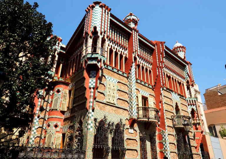 バルセロナ観光 おすすめ観光地・モデルコース カサビセンス(Casa Vicens)