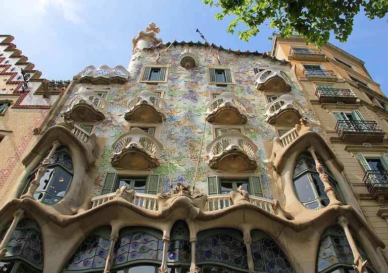 バルセロナ観光 カサバトリョ(Casa Batlló)
