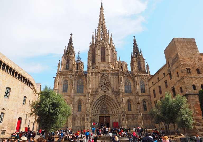 バルセロナ観光 おすすめ観光地・モデルコース カテドラル(Catedral)