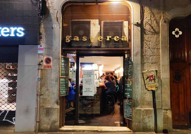 バルセロナ観光 おすすめ観光地・モデルコース バルGasterea