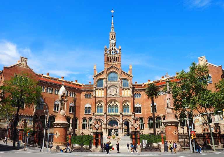 バルセロナ観光 サンパウ病院の画像