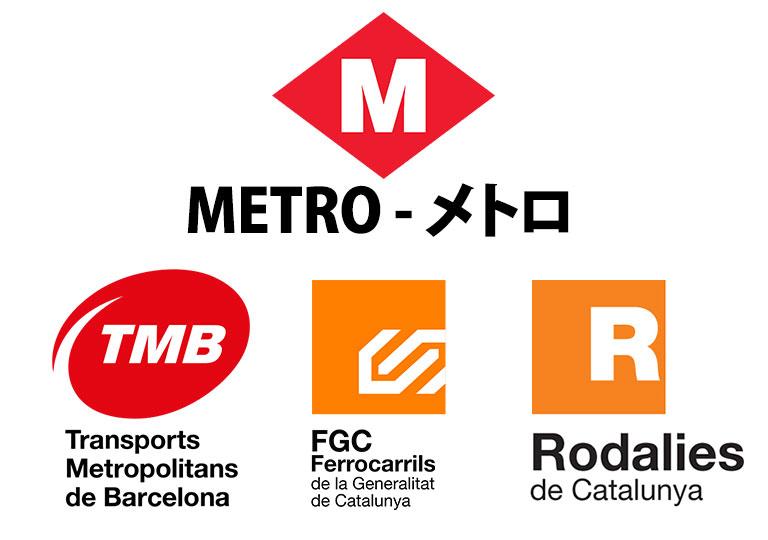 バルセロナ観光 地下鉄(メトロ)の仕組み TBM FGC Rodalies