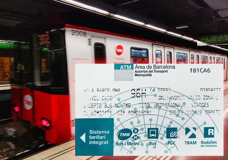 バルセロナ観光 地下鉄(メトロ)のトラベルカード「HOLA BARCELONA(HOLA BCN)」