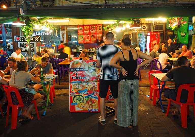 バンコクグルメ タイ料理レストラン アイラブタイフード