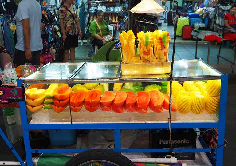 バンコクグルメ タイの南国フルーツ