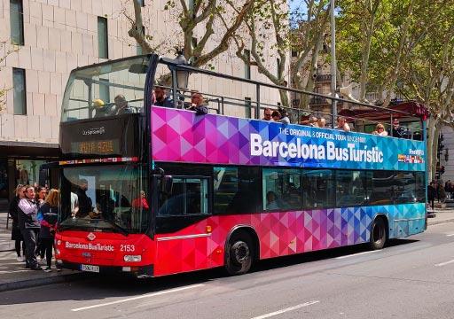 バルセロナ観光 バルセロナ・バス・ツーリ スティック バス
