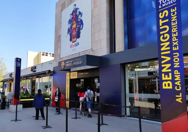 FCバルセロナ カンプノウのバルサミュージアム