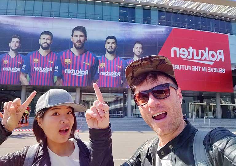 バルセロナ カンプノウ・スタジアム nicolena