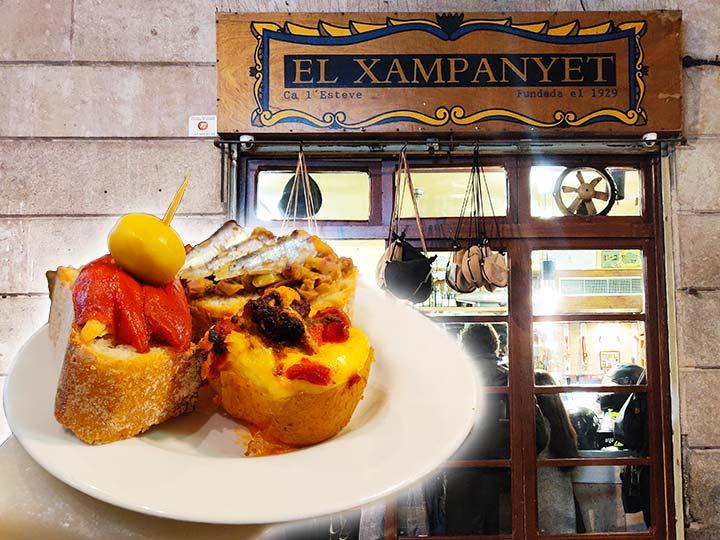 「バルセロナの大人気タパスバル!市民が集うエル・シャンパニェットが最高だった」 トップ画像