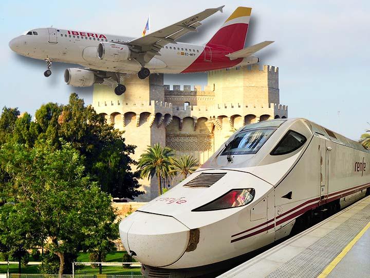 「バルセロナからバレンシアへの移動方法!電車、バス、飛行機の徹底比較」 トップ画像