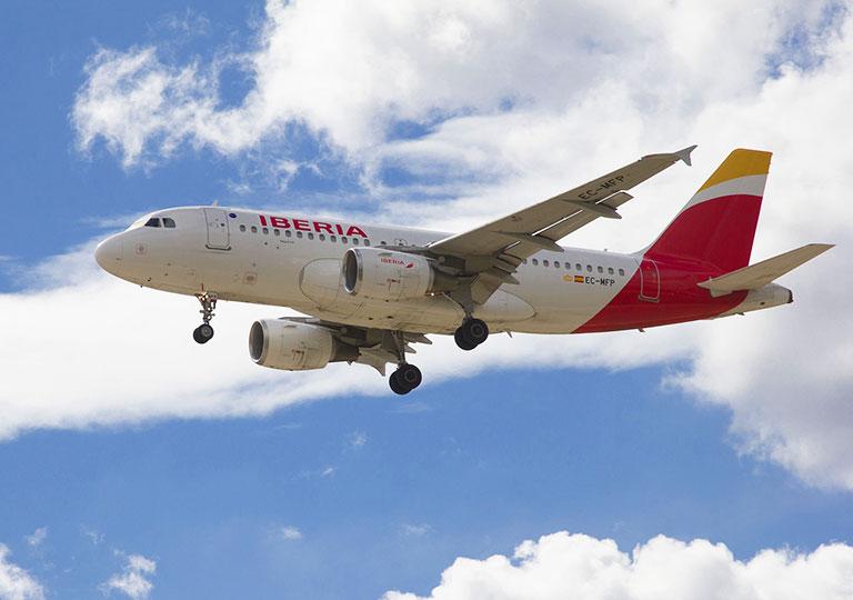 飛行機 イベリア航空