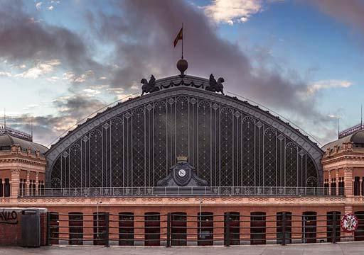 マドリード観光  マドリード・アトーチャ駅(Madrid Puerta de Atocha)