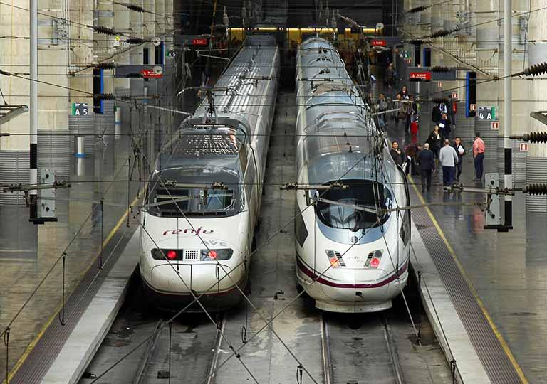 スペインの鉄道 レンフェ(Renfe)