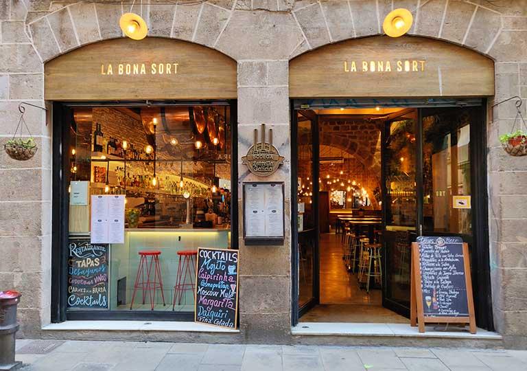 バルセロナグルメ La Bona Sort レストラン
