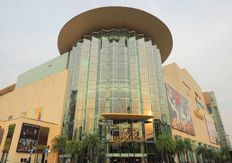 バンコクのデパート サイアムパラゴン