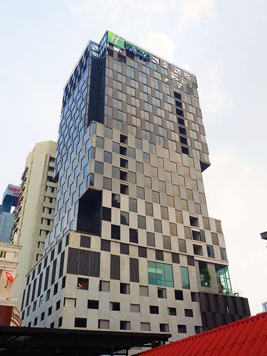 バンコク サイアムのおすすめホテル ホリデイ イン エクスプレス バンコク サイアム