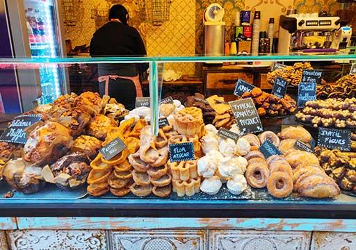バルセロナグルメ ボケリア市場 お菓子屋