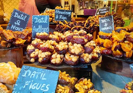バルセロナグルメ ボケリア市場  お菓子