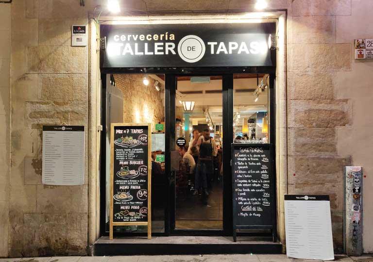 バルセロナグルメ タラー デ タパス レストラン
