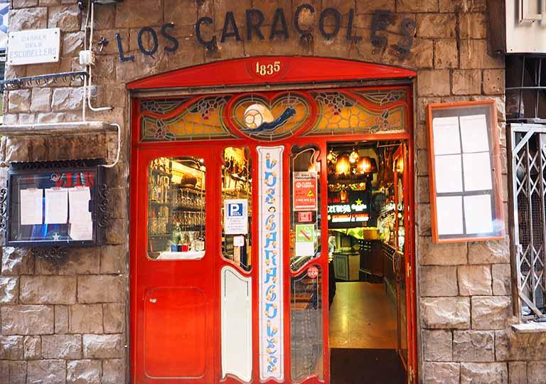 バルセロナグルメ ロス カラコレス レストラン