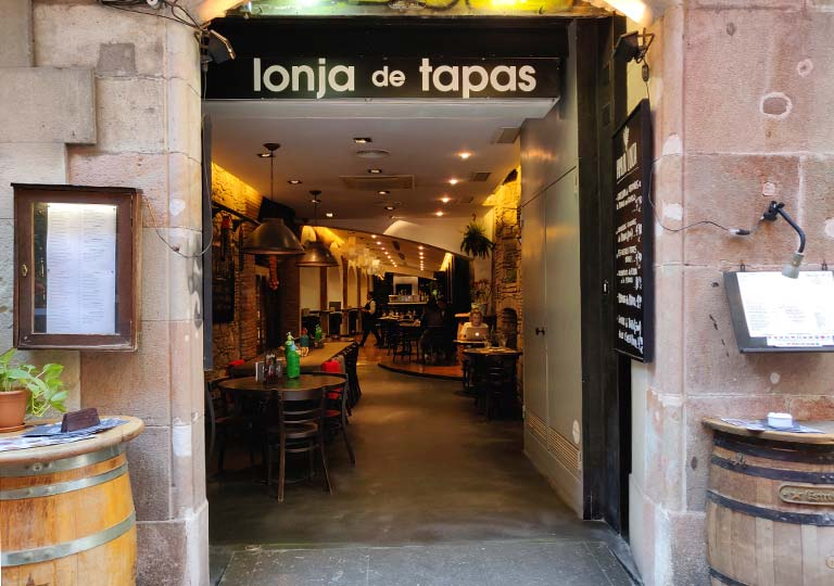 バルセロナグルメ タパスバル ロンハ デ タパス