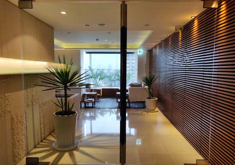 リージェント台北ホテル 沐蘭SPA(ムーランスパ)の入り口