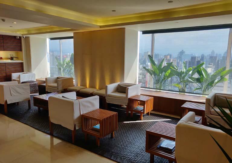 リージェント台北ホテル 沐蘭SPA(ムーランスパ)のロビー