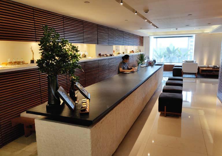 リージェント台北ホテル 沐蘭SPA(ムーランスパ)のレセプション