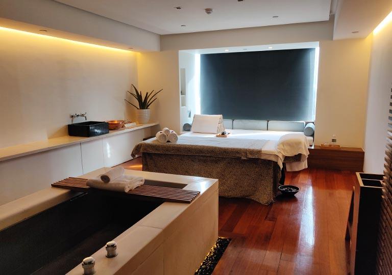 リージェント台北ホテル 沐蘭SPA(ムーランスパ)の施術室