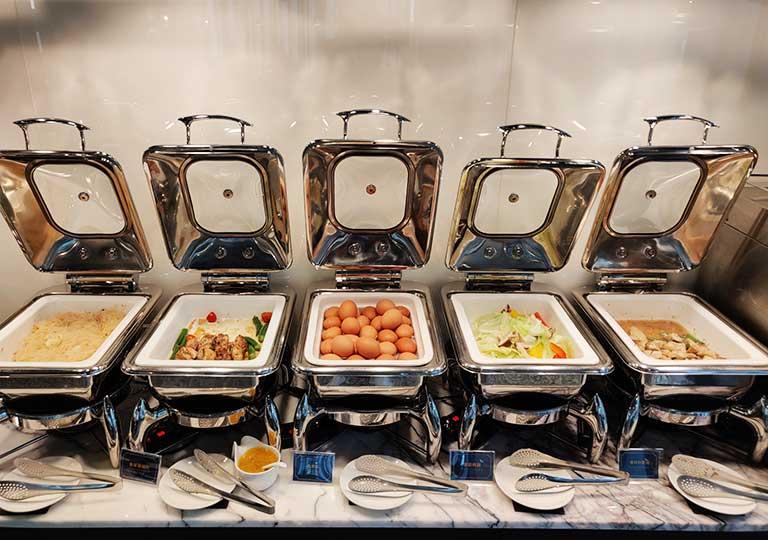 台中 1969ブルースカイホテル(1969 藍天飯店) 朝食ビュッフェ
