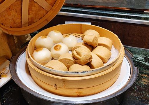 台中 エバーグリーンローレルホテル(長栄桂冠酒店) 朝食ビュッフェの中華スイーツ
