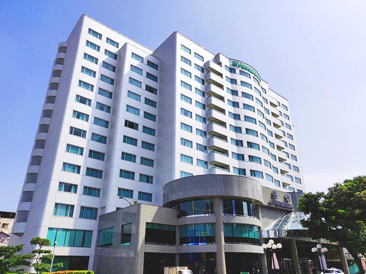 台中 エバーグリーンローレルホテル(長栄桂冠酒店) 建物