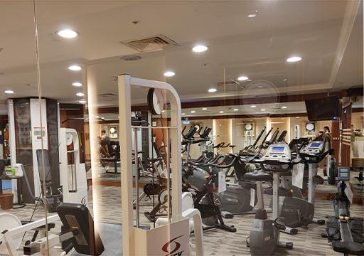 台中 エバーグリーンローレルホテル(長栄桂冠酒店) フィットネスセンター