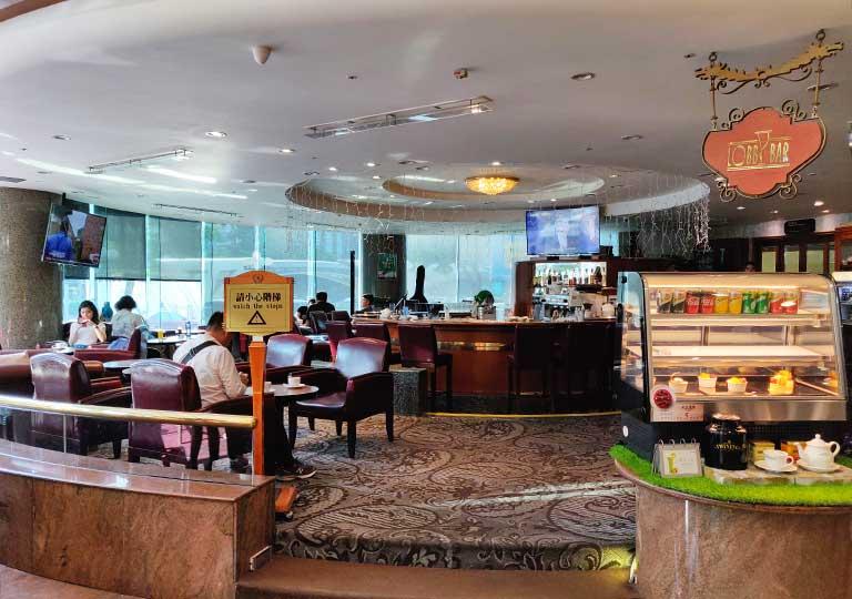 台中 エバーグリーンローレルホテル(長栄桂冠酒店) Lobby Bar