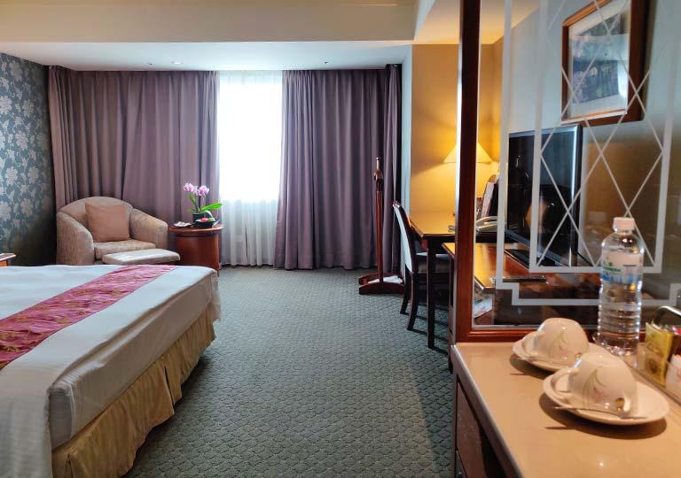 台中 エバーグリーンローレルホテル(長栄桂冠酒店) 客室