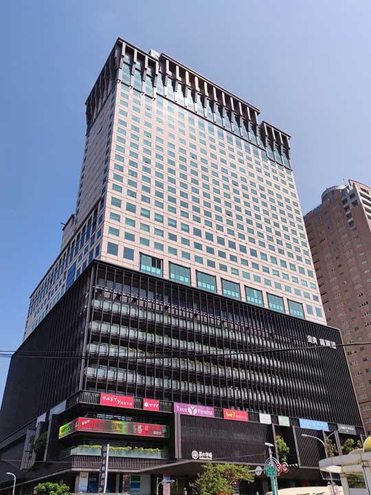 ザ スプレンダー ホテル 台中(台中金典酒店)