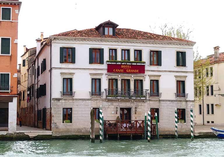 ベネチア ホテル カナル グランデ (Canal Grande Hotel)