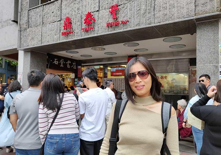ディンタイフォン台北本店 nicolena