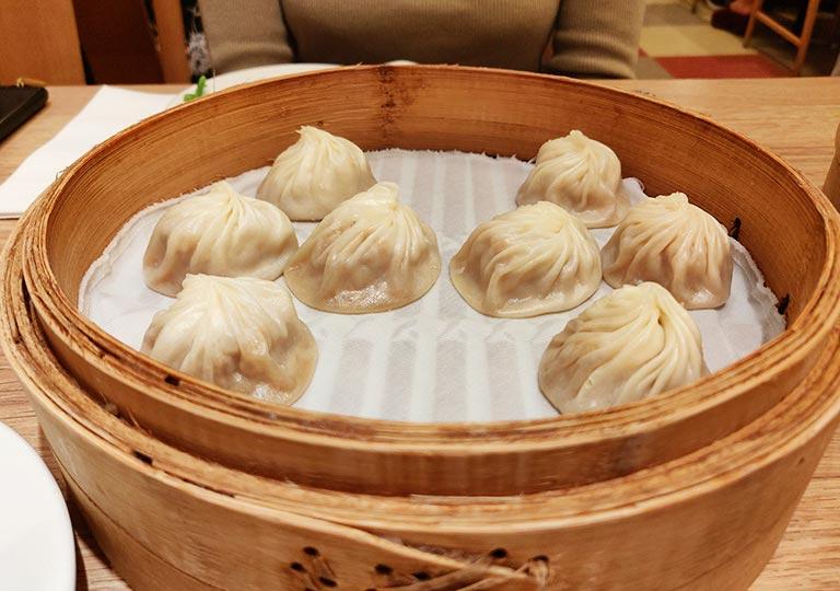 ディンタイフォン台北本店の料理 小籠包