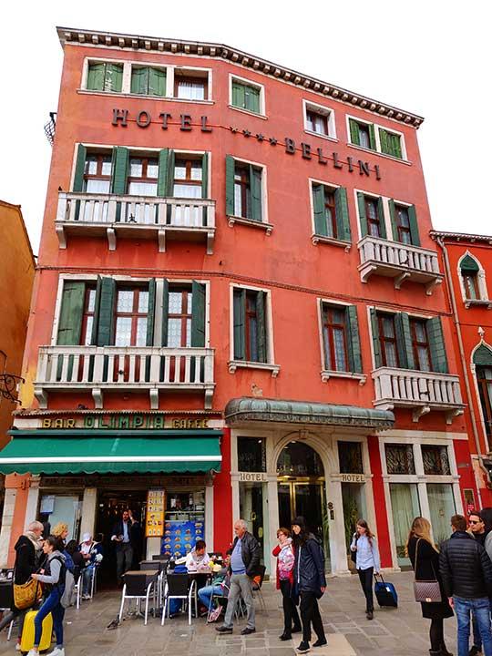 ベネチア ホテル ベリーニ (Hotel Bellini)