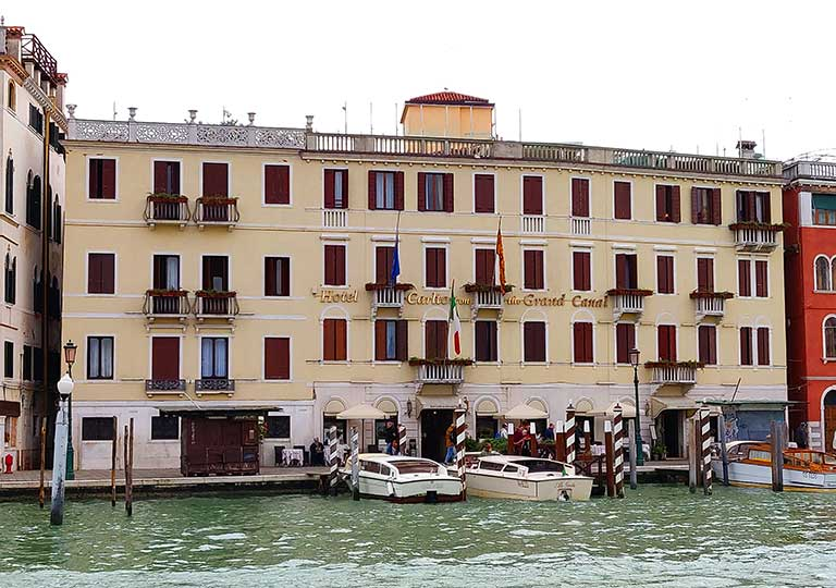 ベネチア ホテル カールトン オン ザ グランド カナル (Hotel Carlton On The Grand Canal)