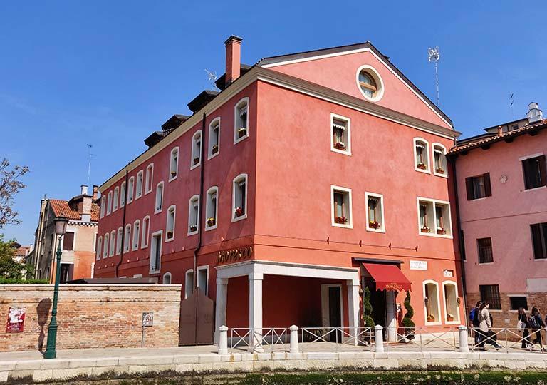 ベネチア ホテル モレスコ (Hotel Moresco)