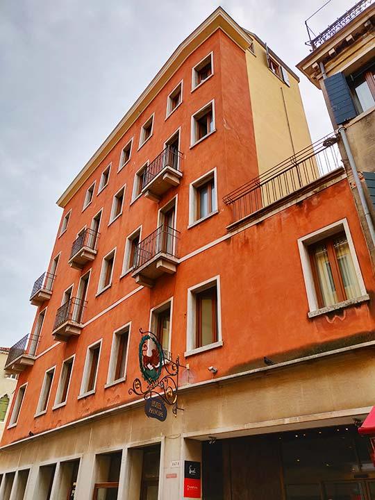 ベネチア ホテル プリンチペ (Hotel Principe)