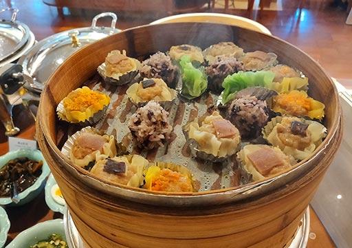 サンワンレジデンシズ台北(San Want Residences Taipei) 朝食ビュッフェの点心